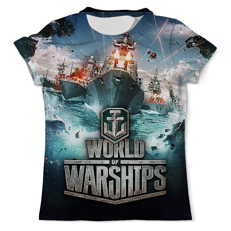 Printio Футболка с полной запечаткой (мужская) World of warships. видеоигры
