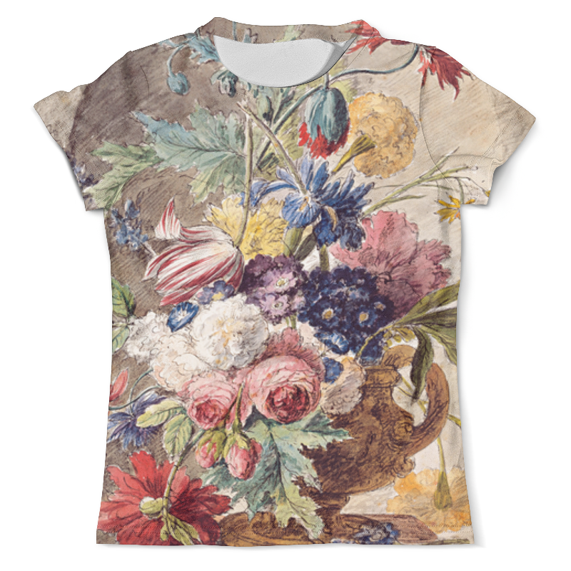 Printio Футболка с полной запечаткой (мужская) Цветочный натюрморт (ян ван хёйсум) printio открытка цветочный натюрморт ян ван хёйсум