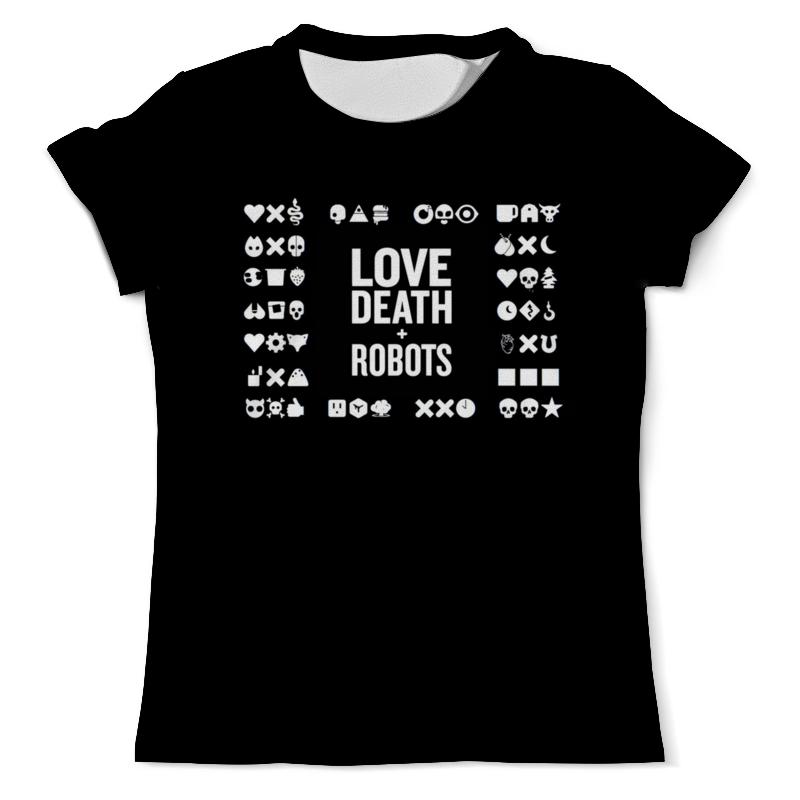 Printio Футболка с полной запечаткой (мужская) Любовь смерть и роботы