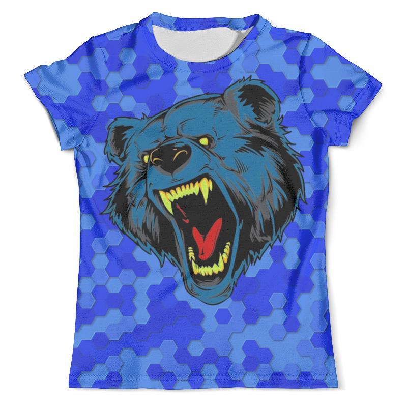 Printio Футболка с полной запечаткой (мужская) Blue bear printio футболка с полной запечаткой мужская the blue whale