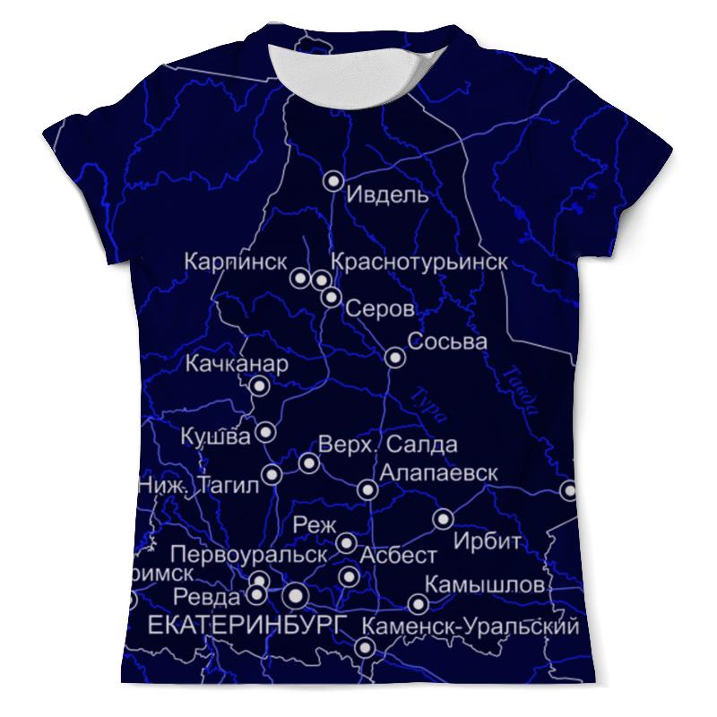 Printio Футболка с полной запечаткой (мужская) Свердловская область. екатеринбург