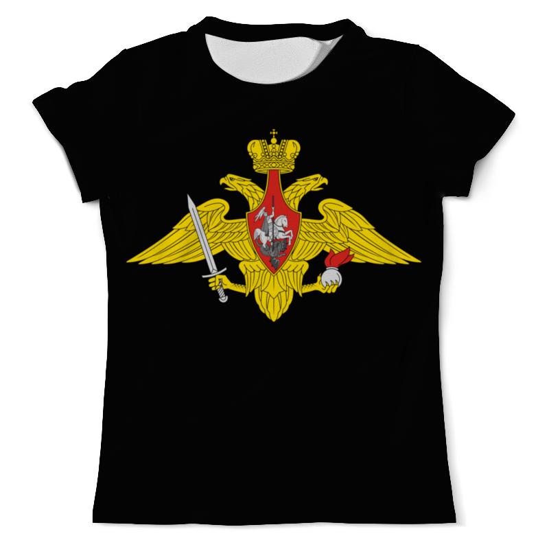 Фото - Printio Футболка с полной запечаткой (мужская) Вооружённые силы. эмблема printio футболка с полной запечаткой мужская футболка надводные силы