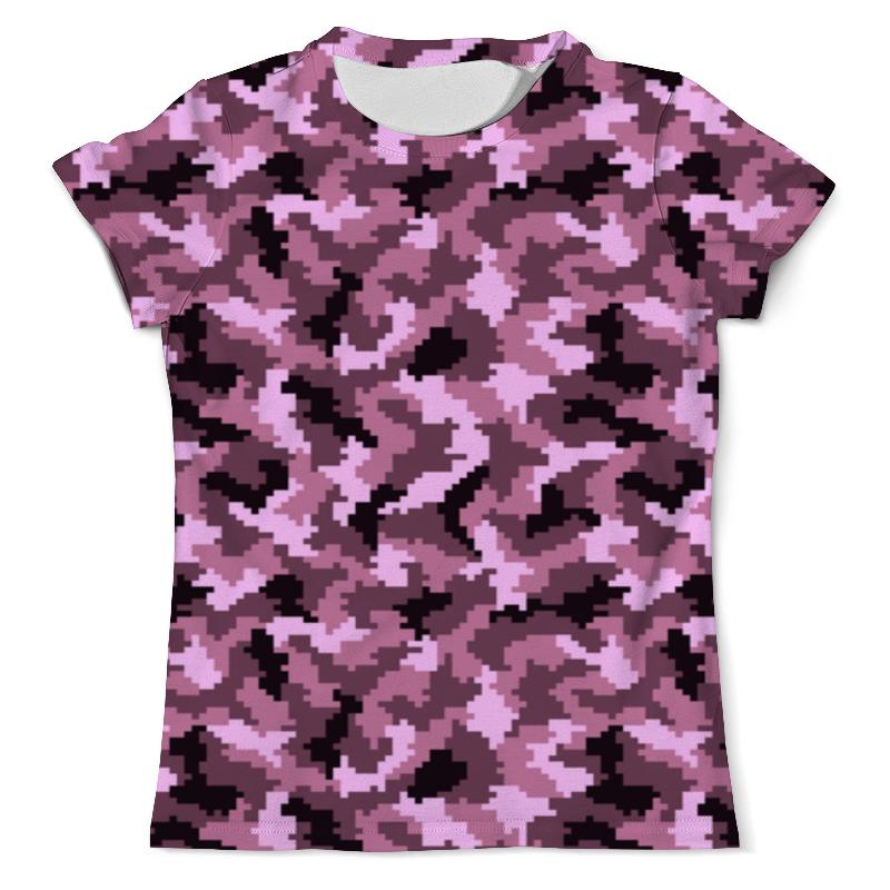 Printio Футболка с полной запечаткой (мужская) Розовый камуфляж