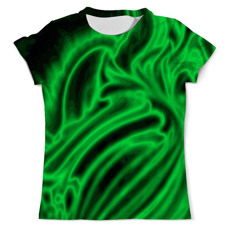 Printio Футболка с полной запечаткой (мужская) Яркий зеленый printio футболка с полной запечаткой мужская мой маяк самый яркий