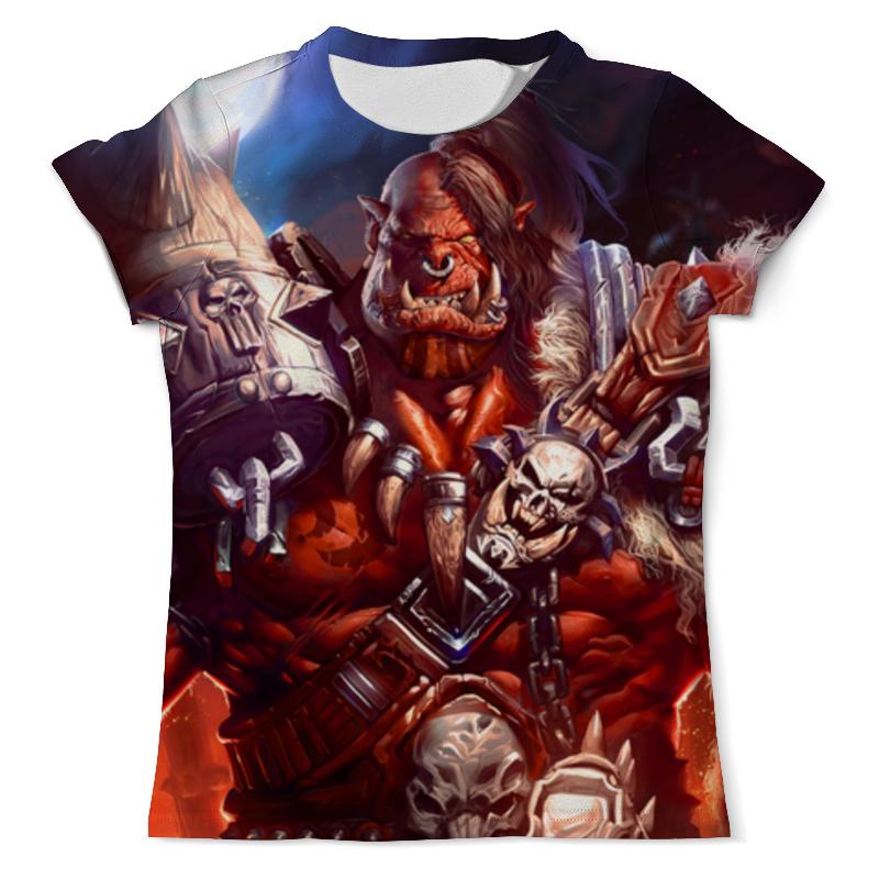 Printio Футболка с полной запечаткой (мужская) Warcraft: орк