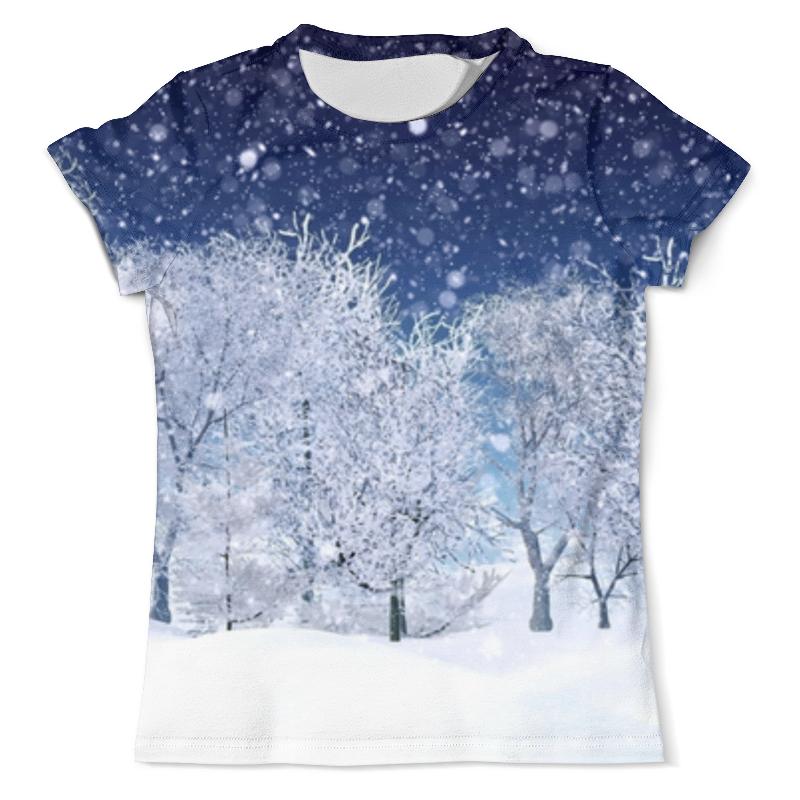 Фото - Printio Футболка с полной запечаткой (мужская) зимний пейзаж printio футболка с полной запечаткой мужская живописный пейзаж