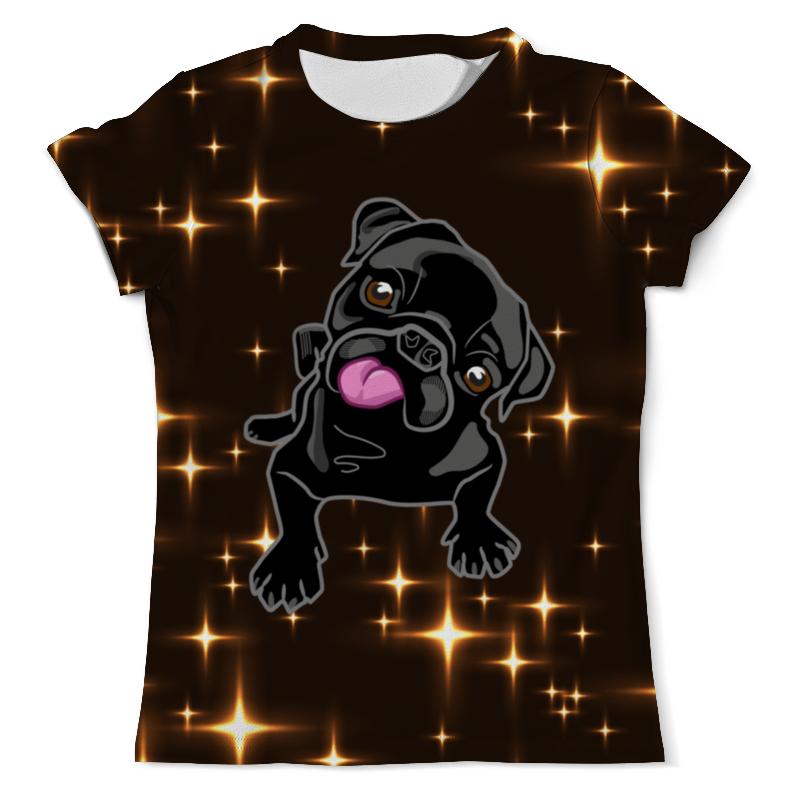 Фото - Printio Футболка с полной запечаткой (мужская) Черный пес printio футболка с полной запечаткой мужская пес с трубкой