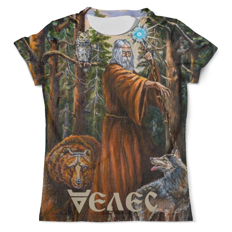 Printio Футболка с полной запечаткой (мужская) Велес. славянские боги printio футболка с полной запечаткой мужская велес 2