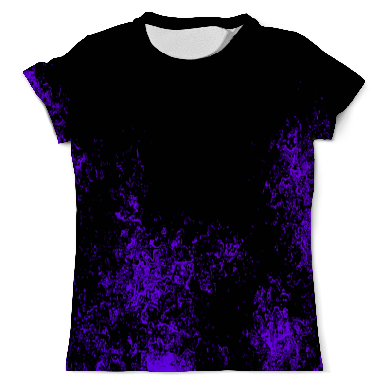Printio Футболка с полной запечаткой (мужская) Фиолетовая краска