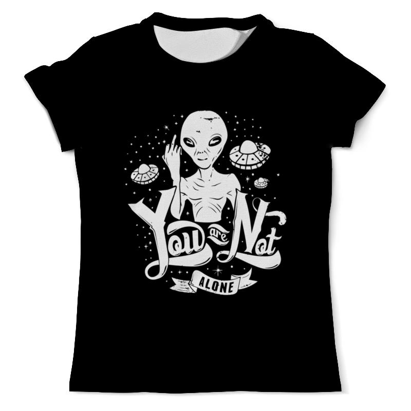 Printio Футболка с полной запечаткой (мужская) Пришелец ( alien ) printio футболка с полной запечаткой мужская маленький пришелец 1