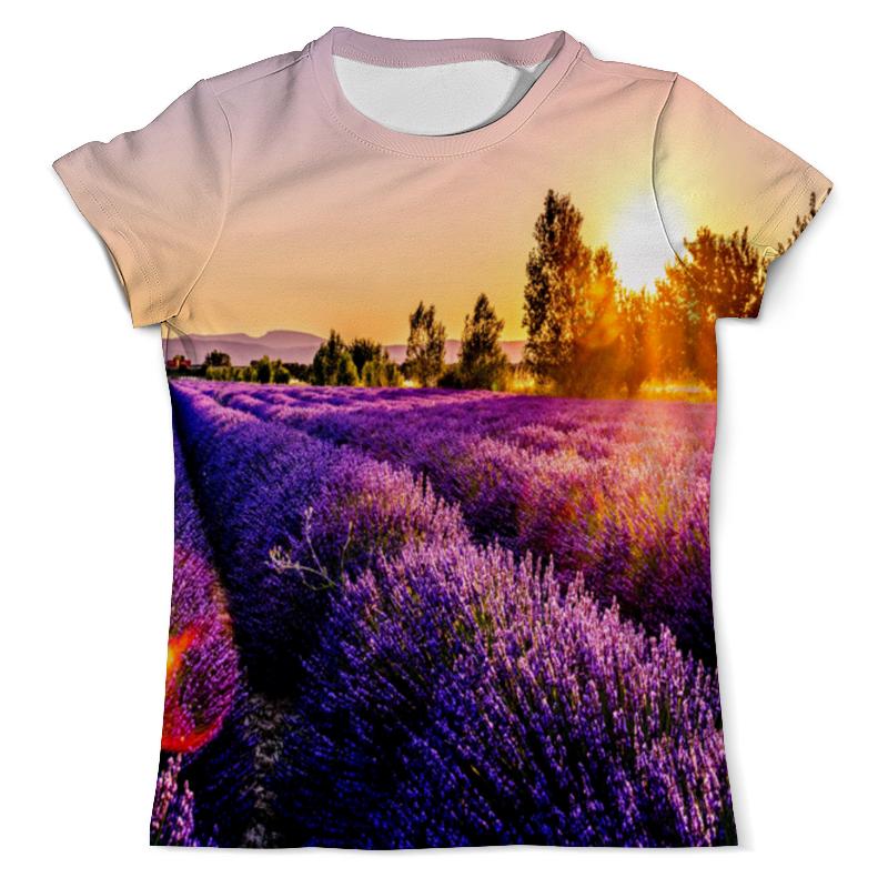 Фото - Printio Футболка с полной запечаткой (мужская) Поле цветов толстовка с полной запечаткой printio поле цветов