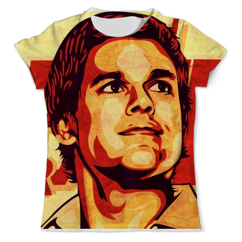 Printio Футболка с полной запечаткой (мужская) Декстер printio футболка с полной запечаткой мужская декстер dexter