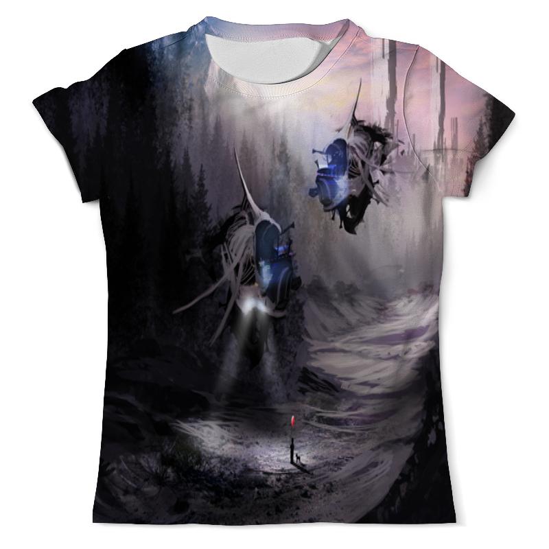 Фото - Printio Футболка с полной запечаткой (мужская) Лесной пейзаж printio футболка с полной запечаткой мужская живописный пейзаж