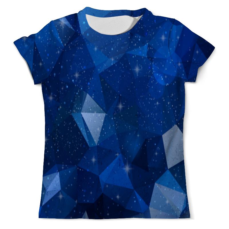 Printio Футболка с полной запечаткой (мужская) Blue polygon printio футболка с полной запечаткой мужская the blue whale