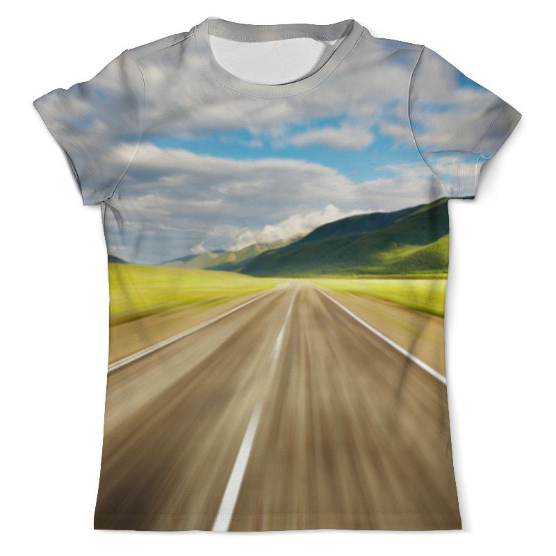 printio футболка с полной запечаткой мужская дорога Printio Футболка с полной запечаткой (мужская) Дорога к цели