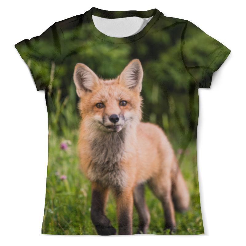 Фото - Printio Футболка с полной запечаткой (мужская) Лиса printio футболка с полной запечаткой мужская лиса low poly