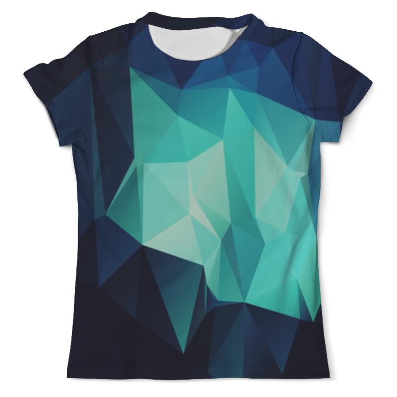 Printio Футболка с полной запечаткой (мужская) Blue abstract printio футболка с полной запечаткой мужская the blue whale