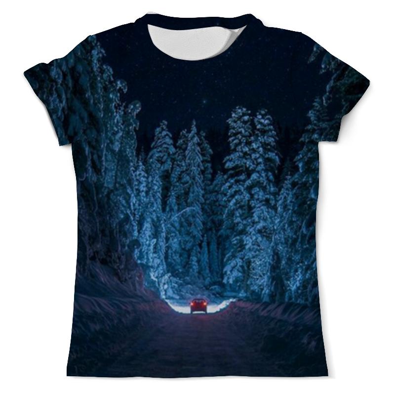 printio футболка с полной запечаткой мужская дорога Printio Футболка с полной запечаткой (мужская) Дорога