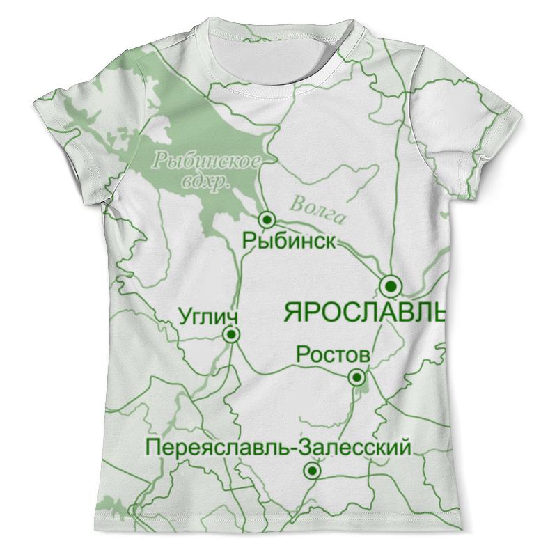 Printio Футболка с полной запечаткой (мужская) Ярославская область. ярославль.