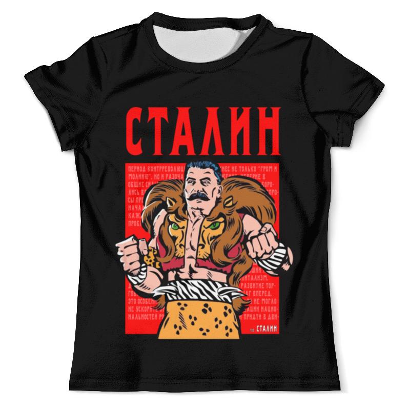 девятов с сигачев ю сталин взгляд со стороны опыт сравнительной аналогии Printio Футболка с полной запечаткой (мужская) Сталин борец со злом