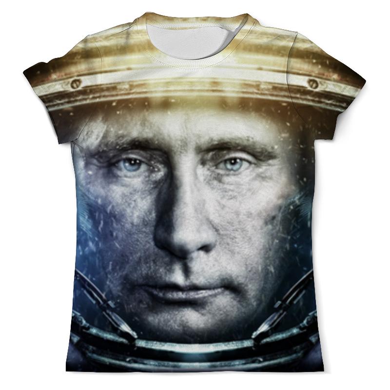 Printio Футболка с полной запечаткой (мужская) Президент россии