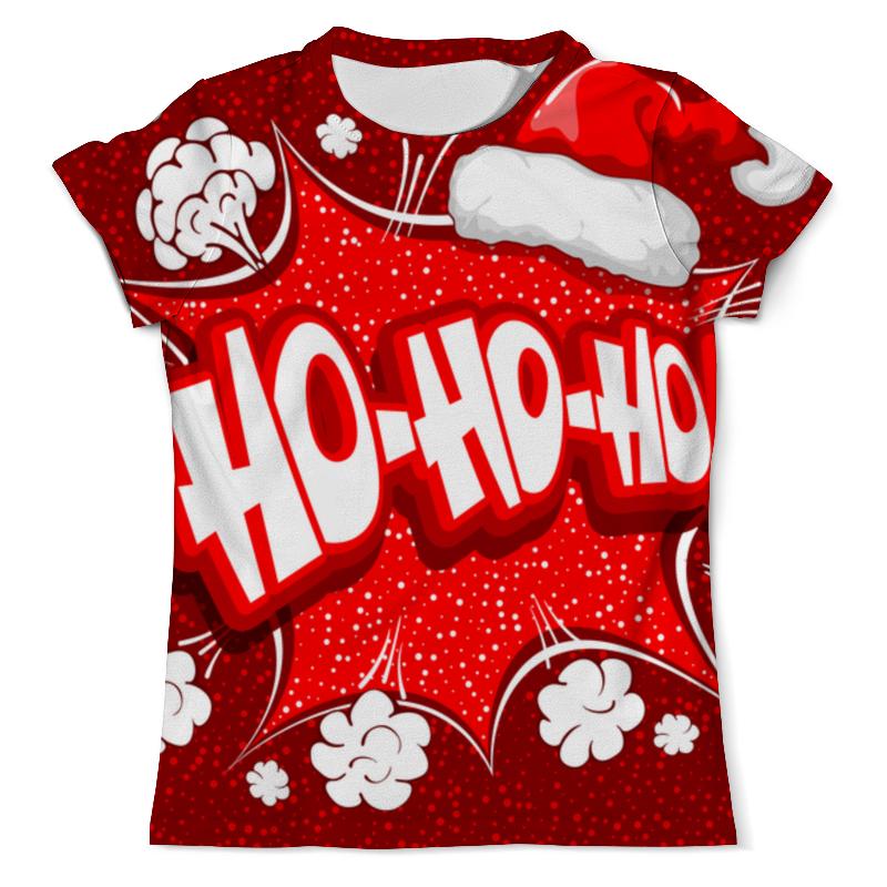 printio футболка с полной запечаткой для девочек ho ho ho Printio Футболка с полной запечаткой (мужская) ho ho ho