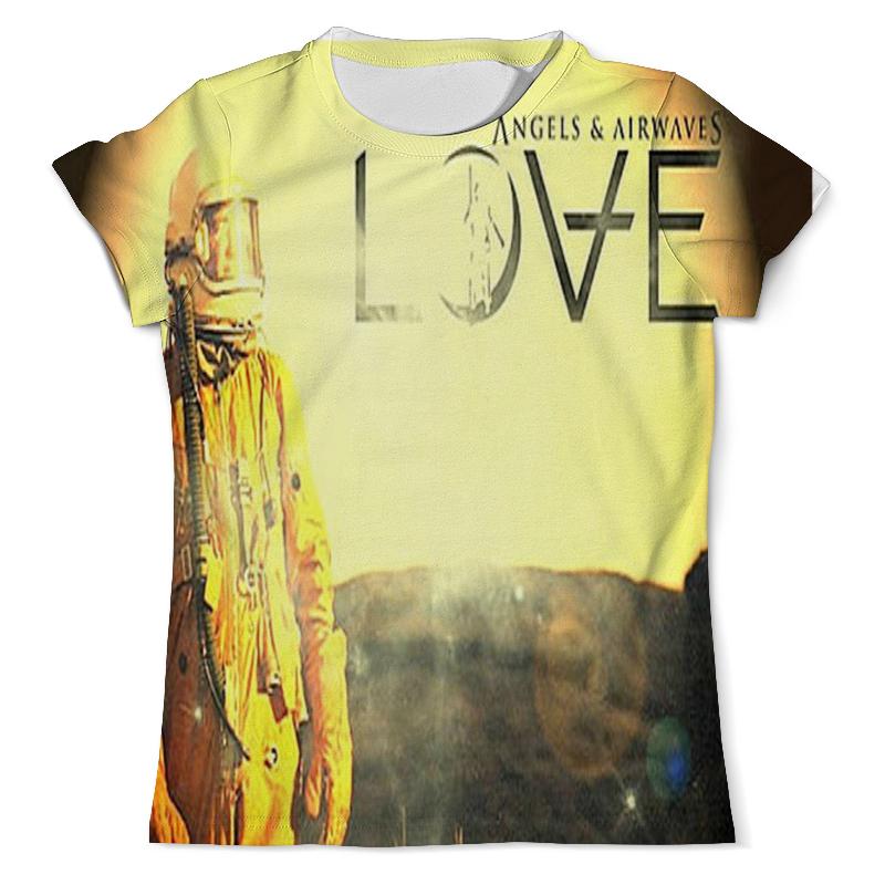 Printio Футболка с полной запечаткой (мужская) Astronaut angels and airwaves printio футболка с полной запечаткой для девочек astronaut angels and airwaves