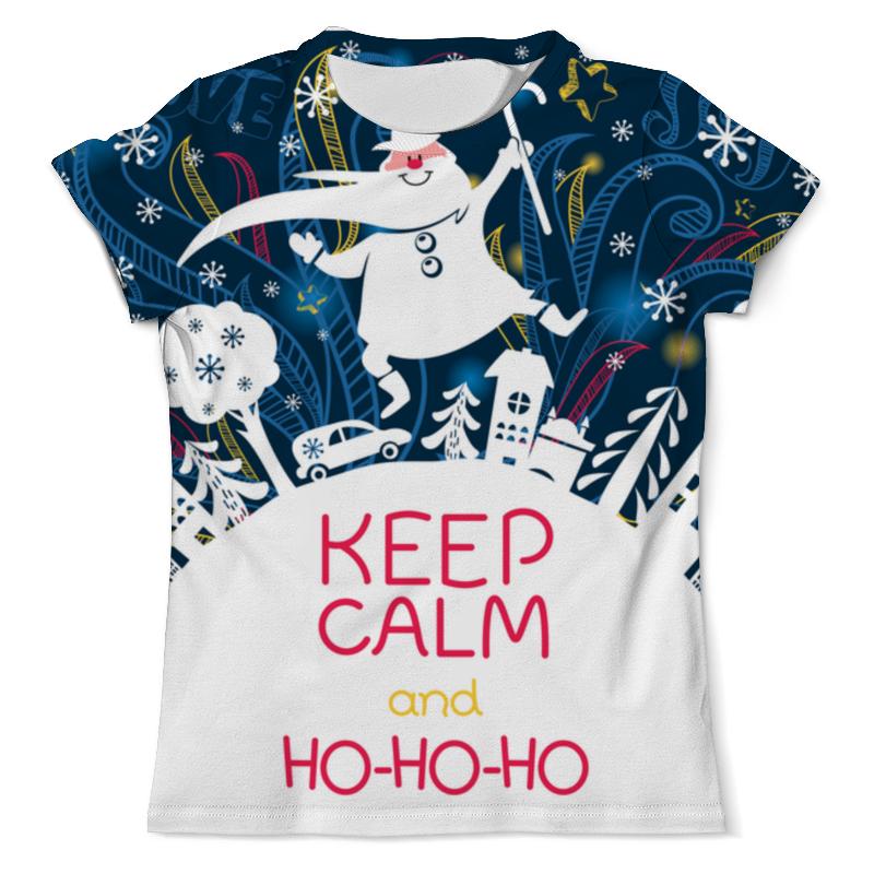 printio футболка с полной запечаткой для девочек ho ho ho Printio Футболка с полной запечаткой (мужская) Ho-ho-ho