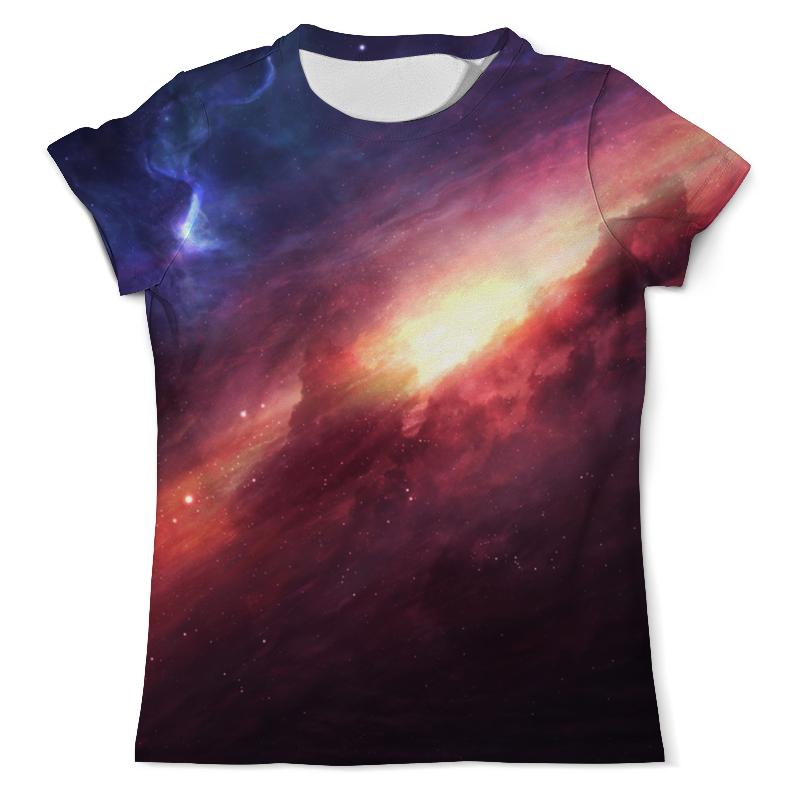 Printio Футболка с полной запечаткой (мужская) Яркий космос printio футболка с полной запечаткой мужская мой маяк самый яркий