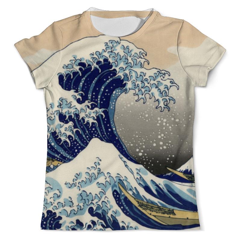 Printio Футболка с полной запечаткой (мужская) Большая волна