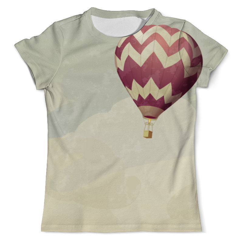 Printio Футболка с полной запечаткой (мужская) Воздушные шары