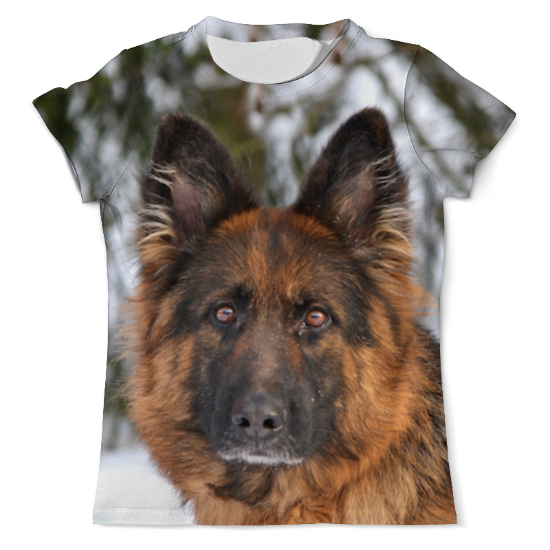 Фото - Printio Футболка с полной запечаткой (мужская) Зимний пес printio футболка с полной запечаткой мужская пес с трубкой