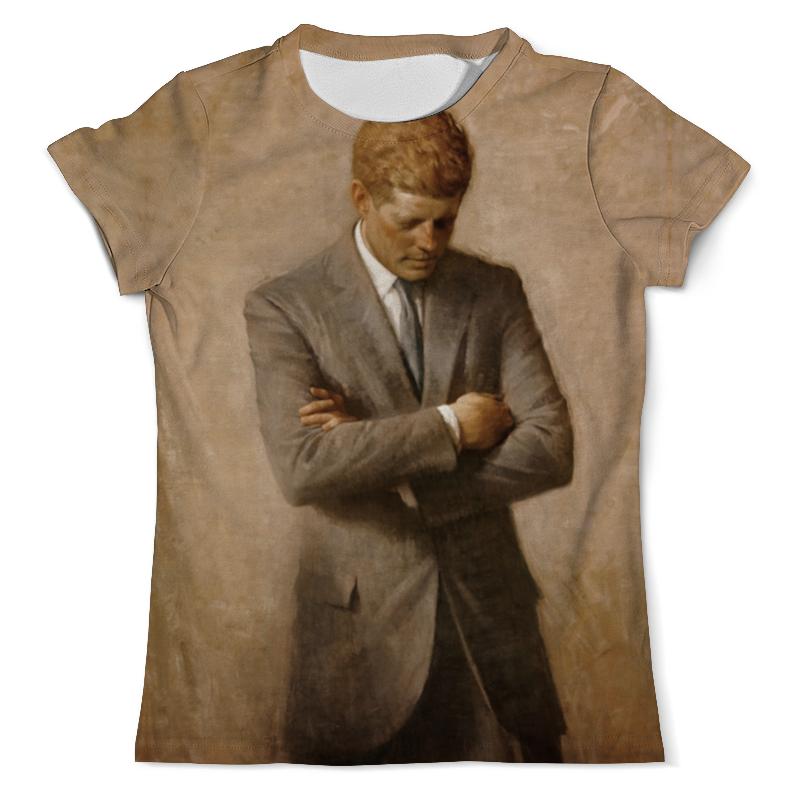 Printio Футболка с полной запечаткой (мужская) Портрет президента джона ф. кеннеди.
