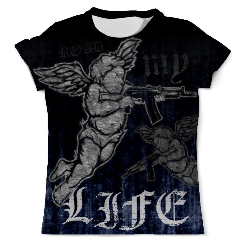 printio футболка с полной запечаткой мужская дорога Printio Футболка с полной запечаткой (мужская) Road my life
