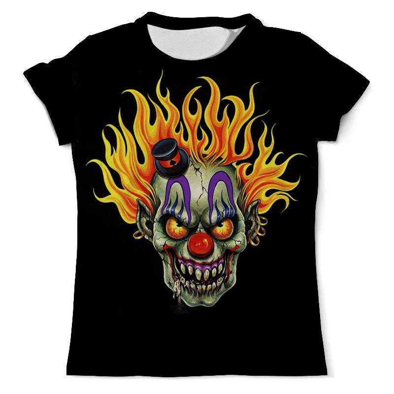 Printio Футболка с полной запечаткой (мужская) Evil clown printio футболка с полной запечаткой для девочек evil clown