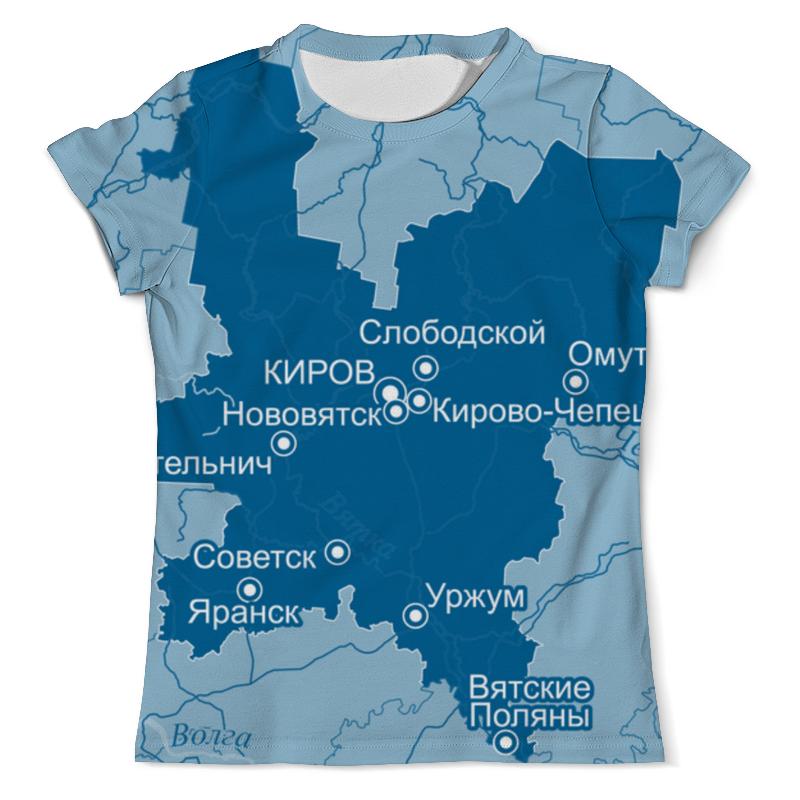 Printio Футболка с полной запечаткой (мужская) Кировская область. киров