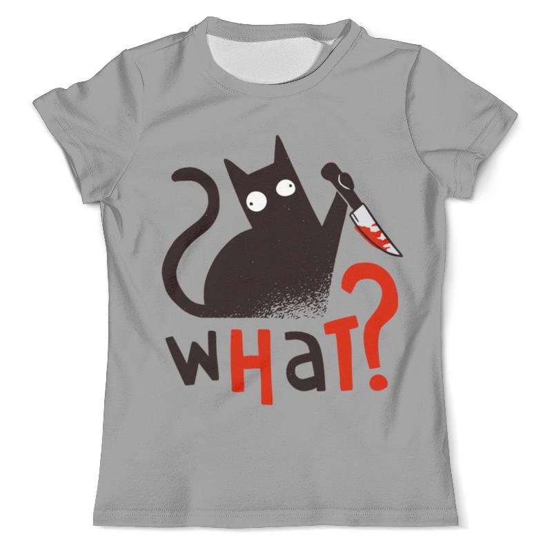Printio Футболка с полной запечаткой (мужская) What cat