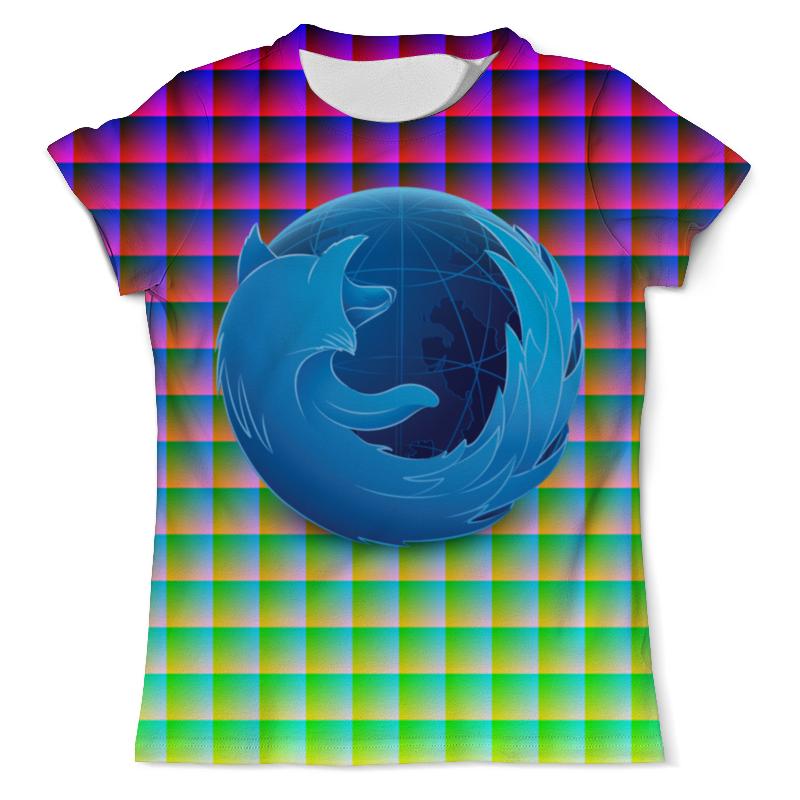 Printio Футболка с полной запечаткой (мужская) Blue firefox printio футболка с полной запечаткой мужская the blue whale