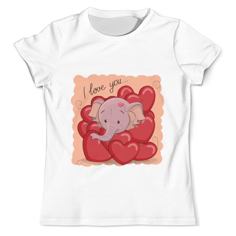 Фото - Printio Футболка с полной запечаткой (мужская) Слоник printio футболка с полной запечаткой для девочек слоник