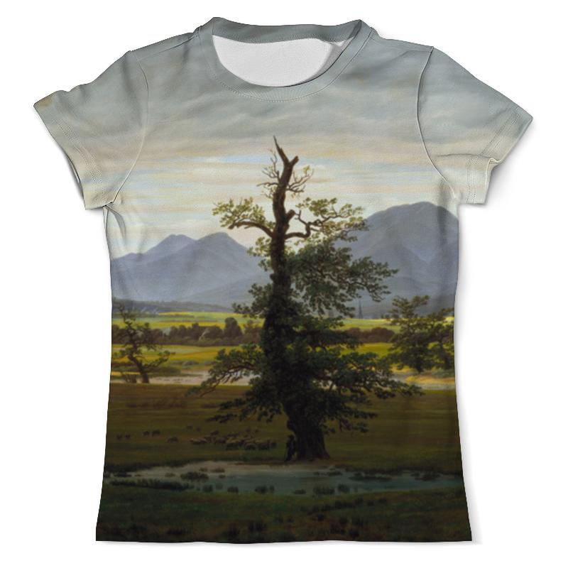 Printio Футболка с полной запечаткой (мужская) Одинокое дерево (каспар давид фридрих)