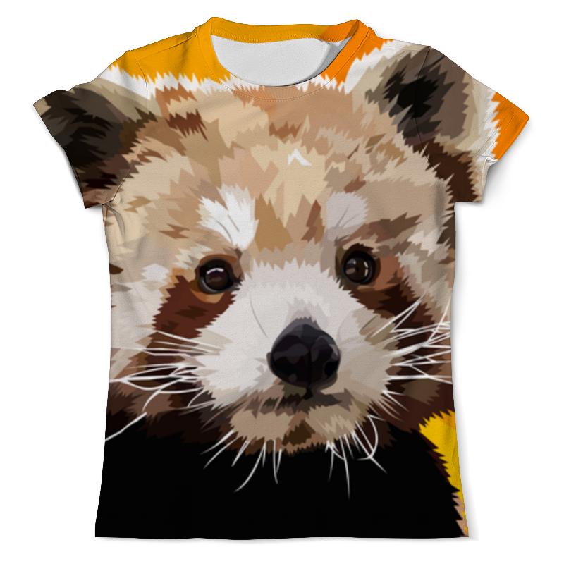 Printio Футболка с полной запечаткой (мужская) Красная панда