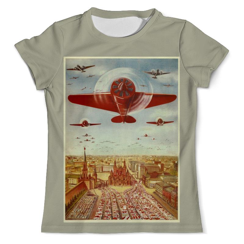 Printio Футболка с полной запечаткой (мужская) Советская авиация