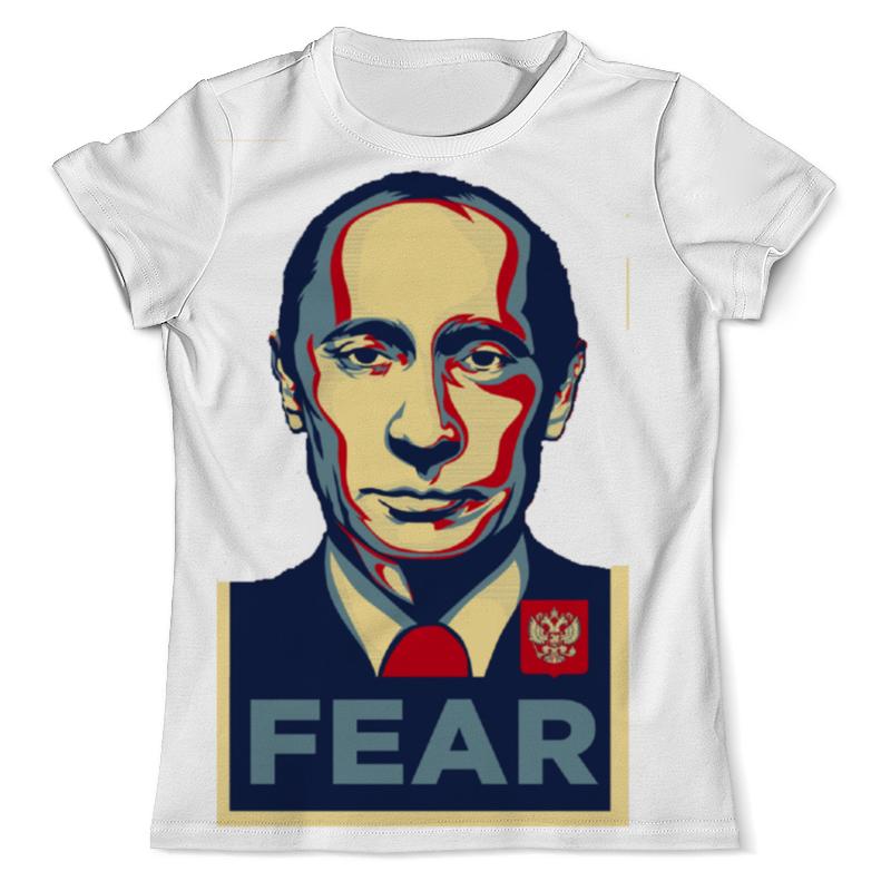 Printio Футболка с полной запечаткой (мужская) Путин