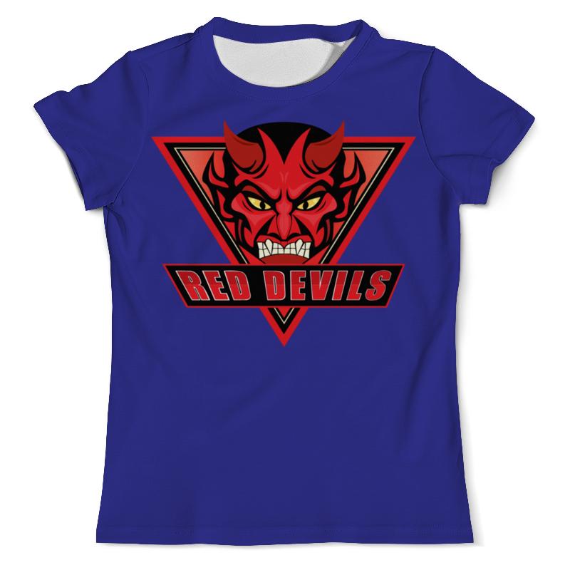 Printio Футболка с полной запечаткой (мужская) Red devils