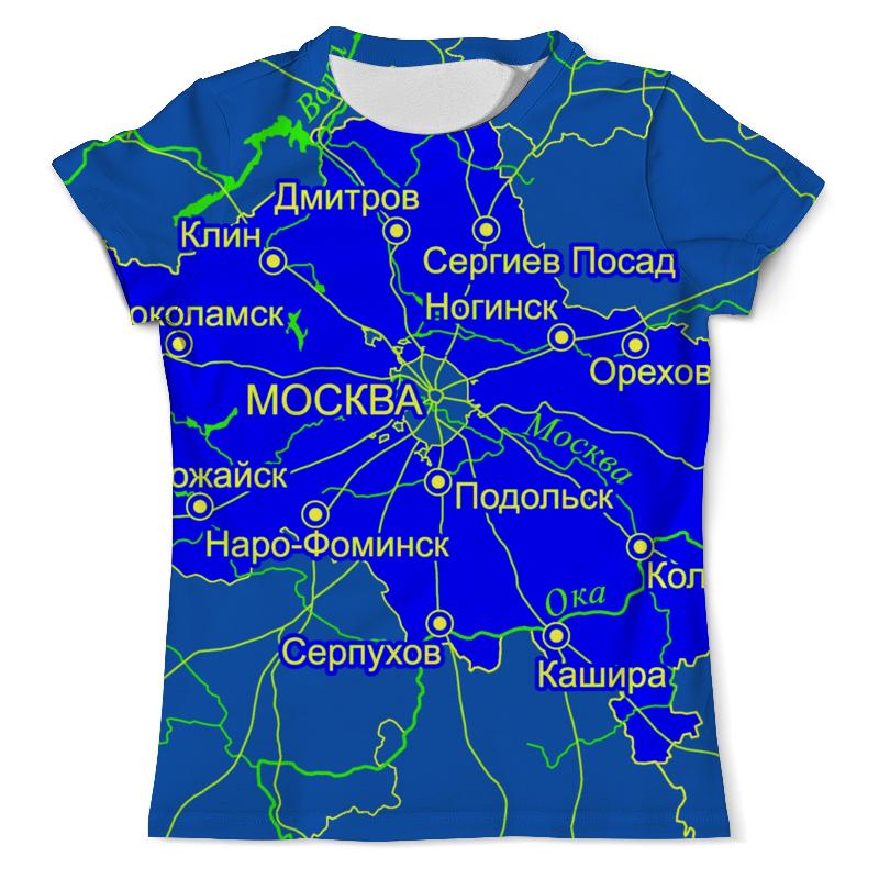 Printio Футболка с полной запечаткой (мужская) Московская область. москва