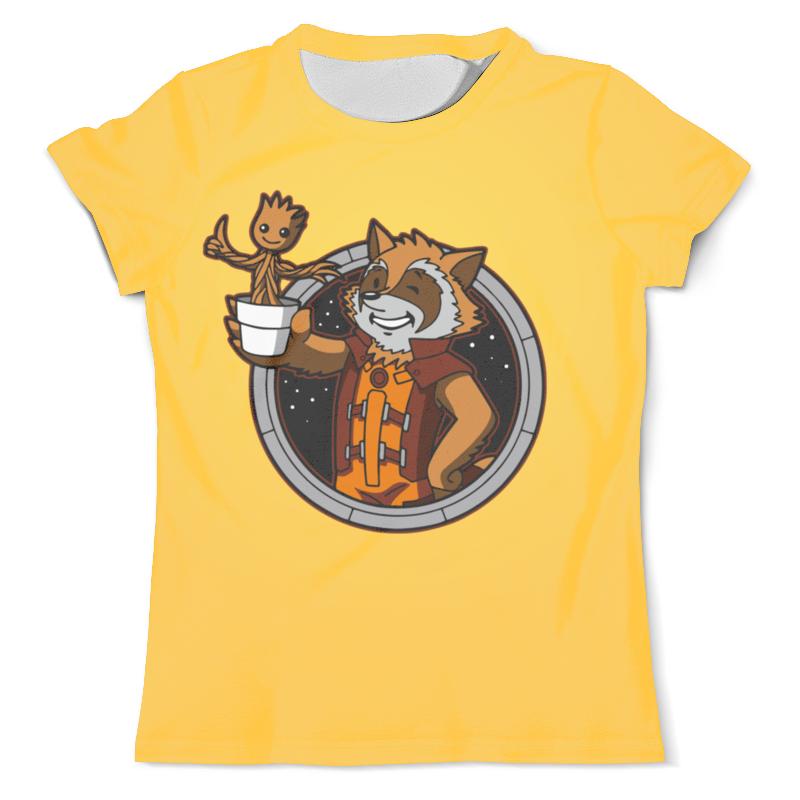 Printio Футболка с полной запечаткой (мужская) Маленький грут printio футболка с полной запечаткой мужская маленький пришелец 1