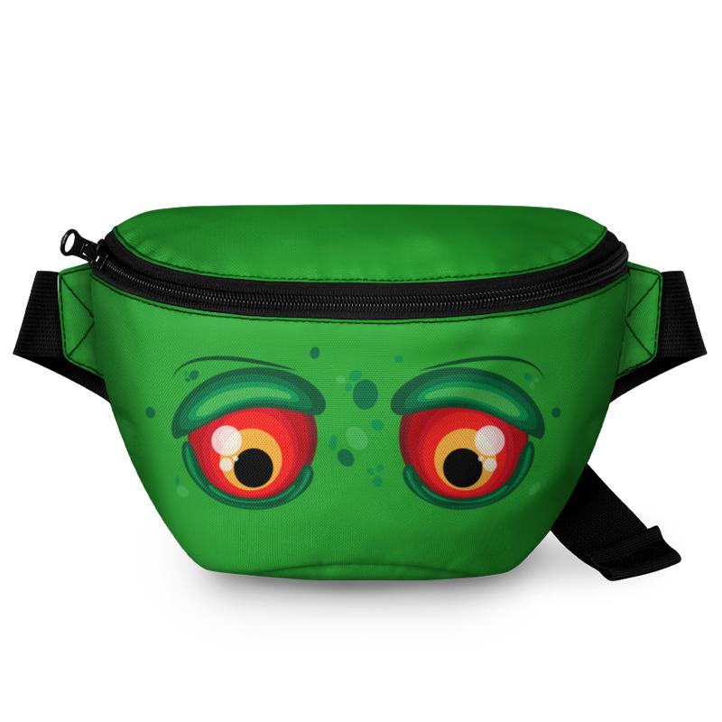Printio Поясная сумка 3D Глаза зомби