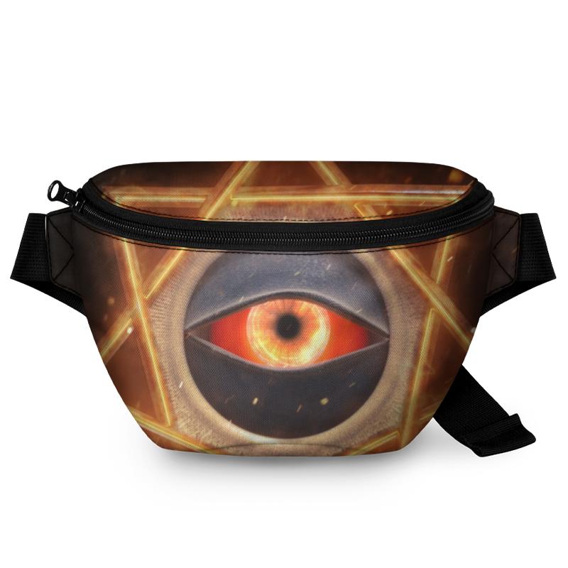 Printio Поясная сумка 3D Третий глаз.