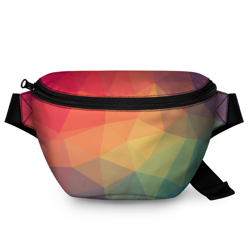 Printio Поясная сумка 3D Цвета.