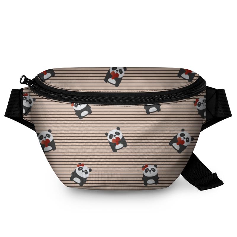 Printio Поясная сумка 3D Мишка